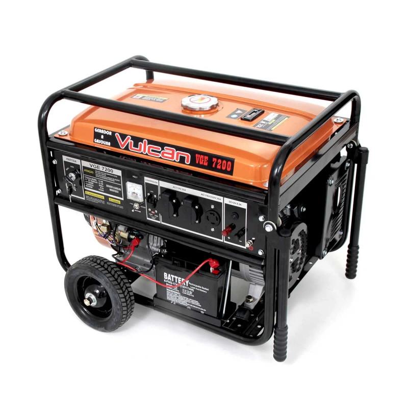 b4b7fe64ab8 ... Gerador de Energia à Gasolina 4T 7200w VGE7200 Bivolt Partida Elétrica  e Manual - VULCAN. prev