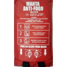Manta Anti-Fogo / Cortina para Soldas CTS550