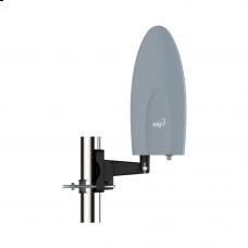 Antena Digital Externa para TV Alcance 60Km com Cabo de 10 metros FALCON HDTV-EX500PLUS ELG