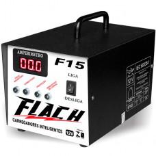 Carregador De Baterias Inteligente F15 Flach