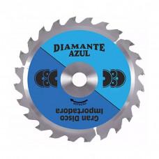 Disco para Madeira Serra Com Vídea 24 Dentes - DIAMANTE AZUL